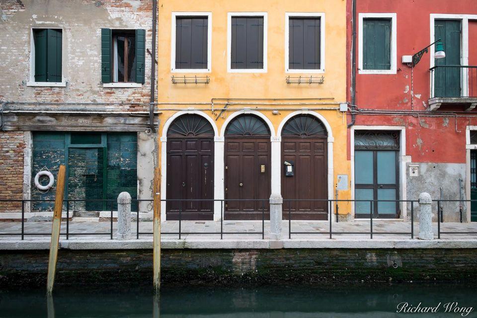 Colorful Buildings print