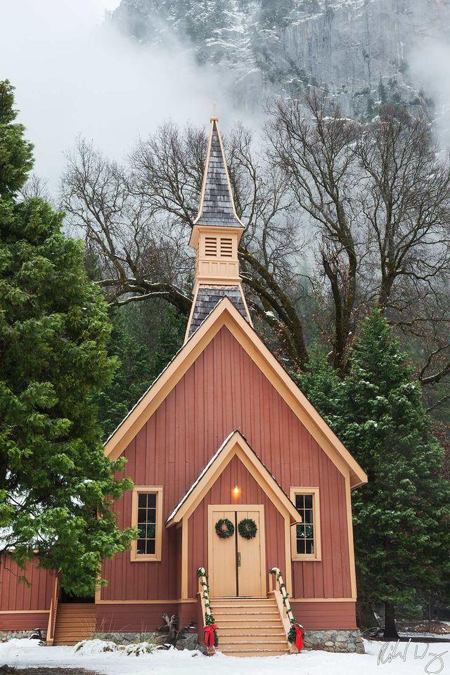 Yosemite Valley Chapel print