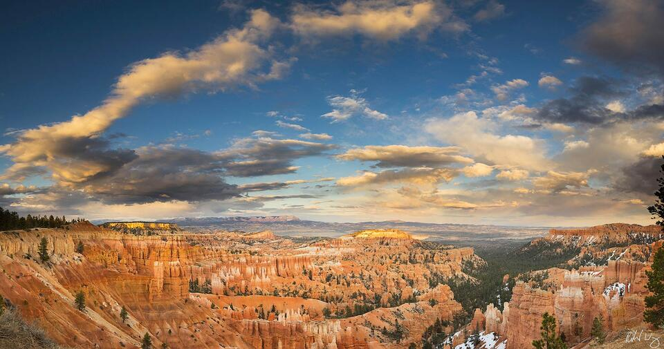 Sunset Point Panoramic, Bryce Canyon National Park, Utah, Photo