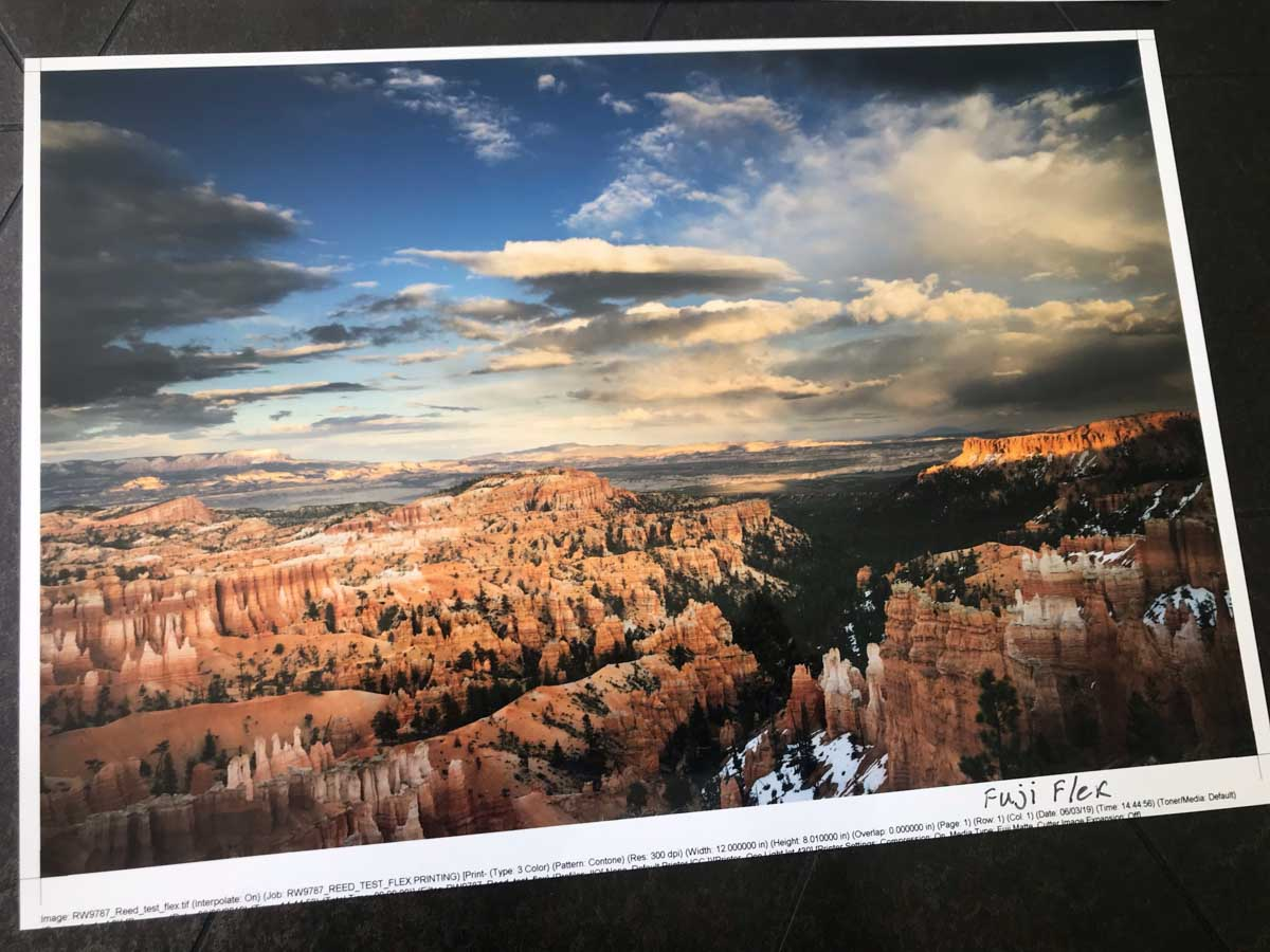 Fujiflex Super Gloss print by Reed Art & Imaging