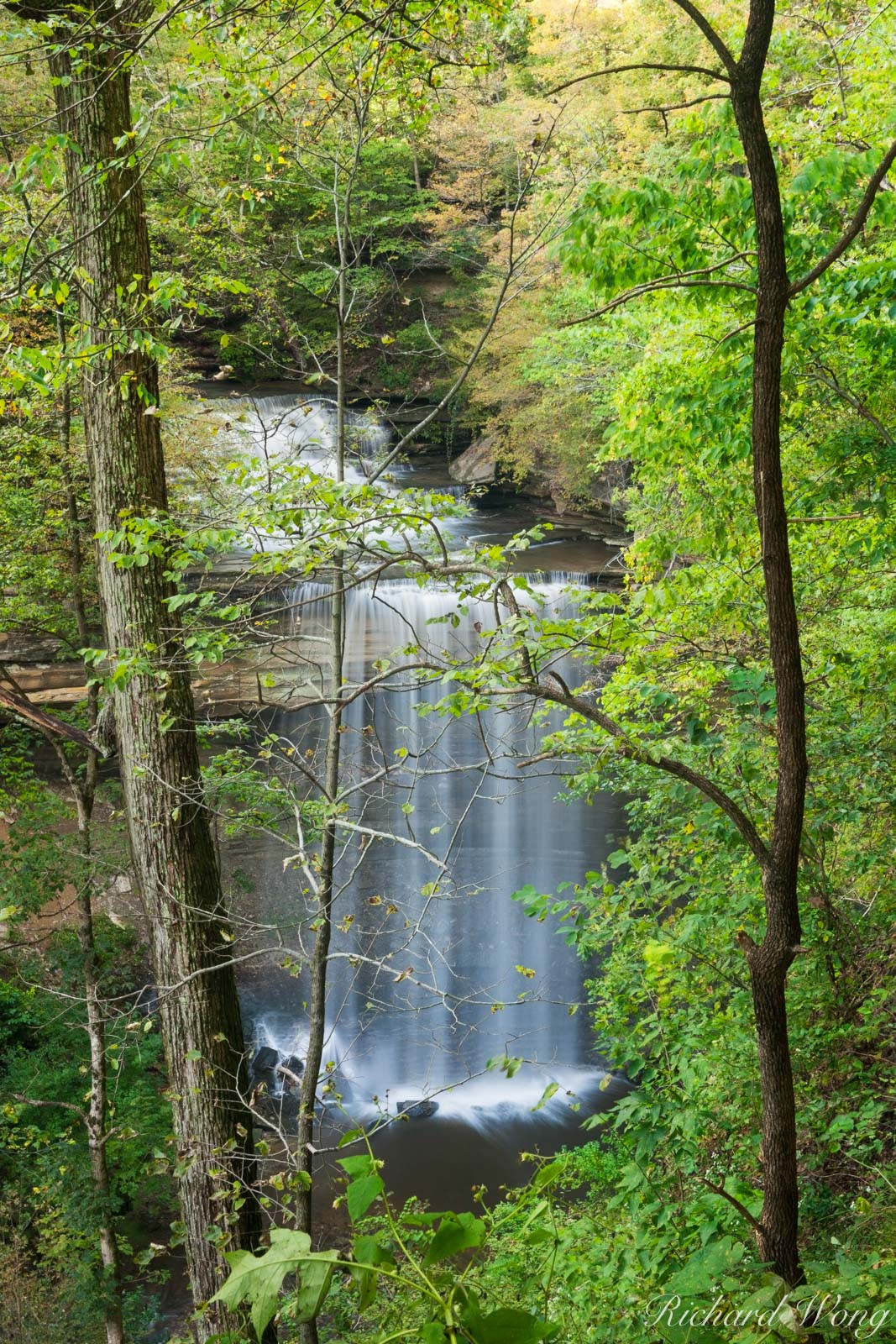Big Clifty Falls, Clifty Falls State Park, Indiana, photo, photo