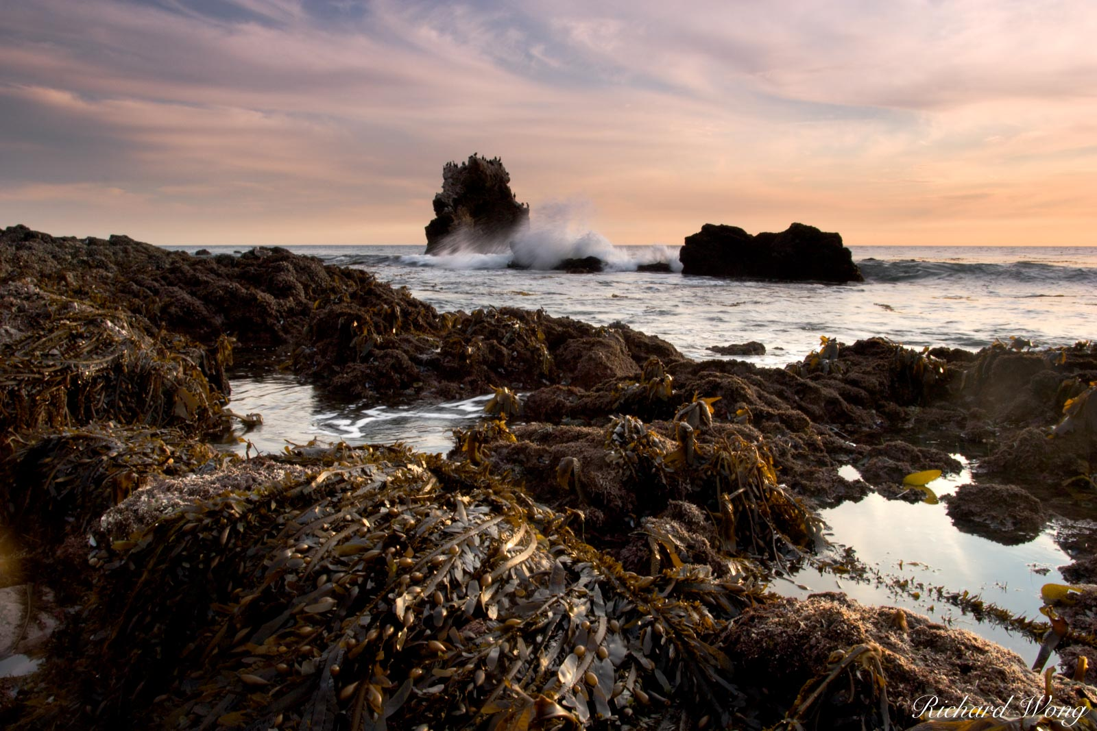 Arch Rock, Little Corona Del Mar Beach, California, photo, photo
