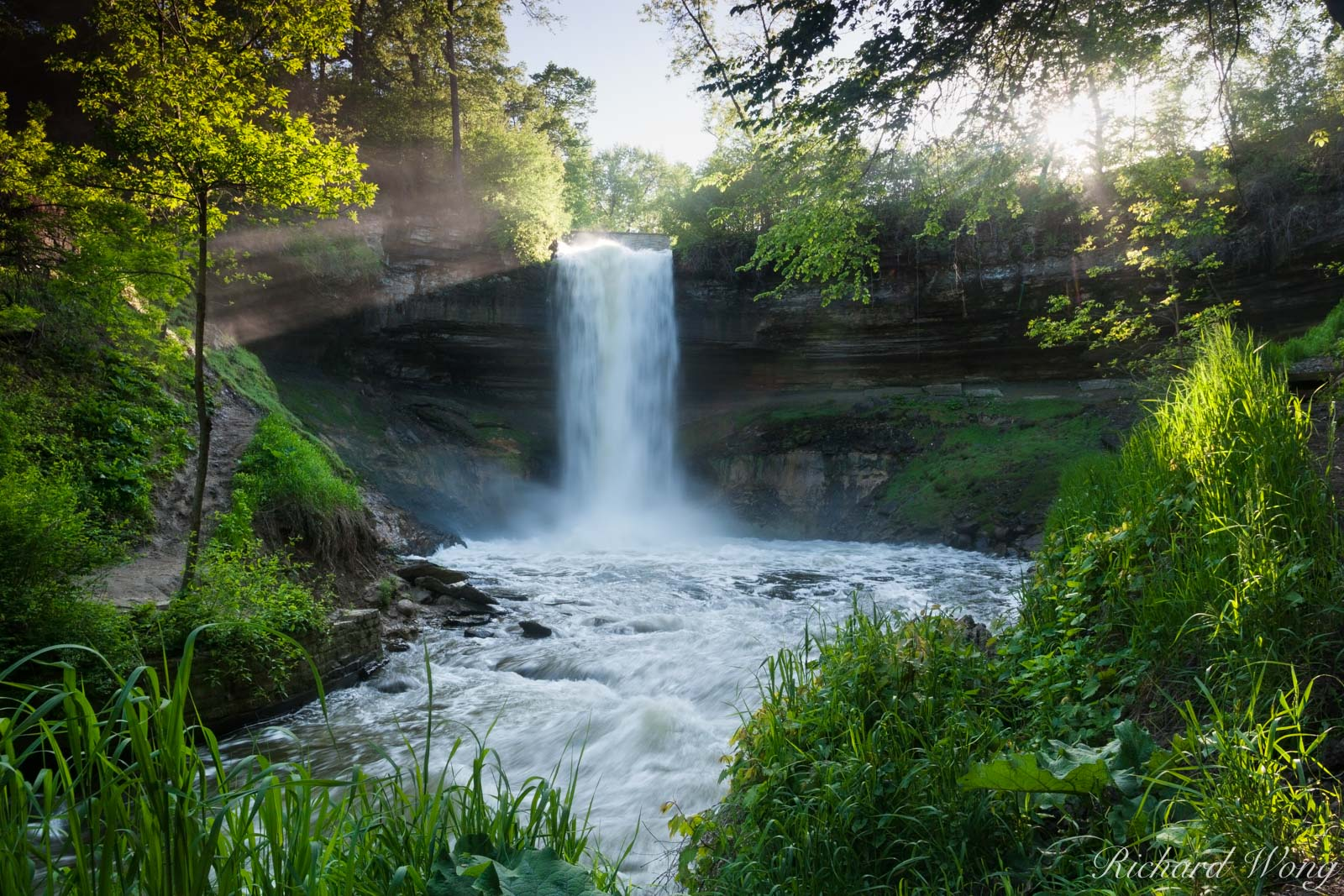 Minnehaha Falls, Minneapolis, Minnesota, photo, photo
