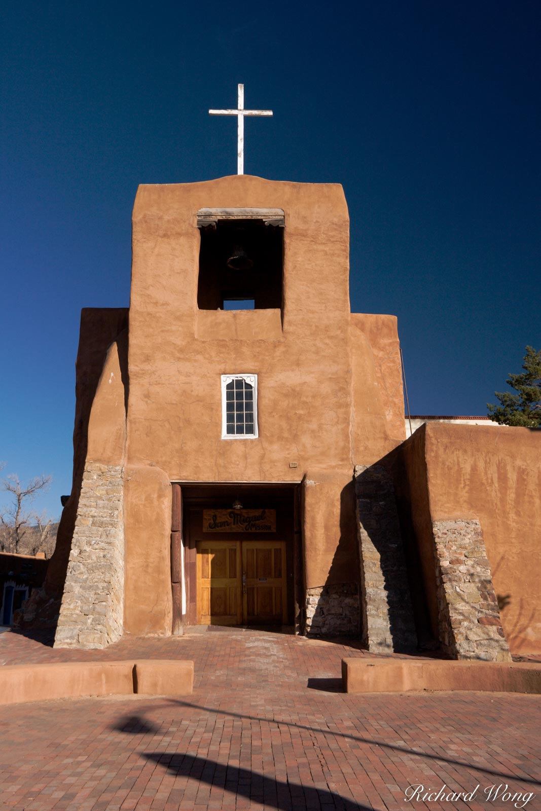 San Miguel Mission, Santa Fe, New Mexico, photo, photo