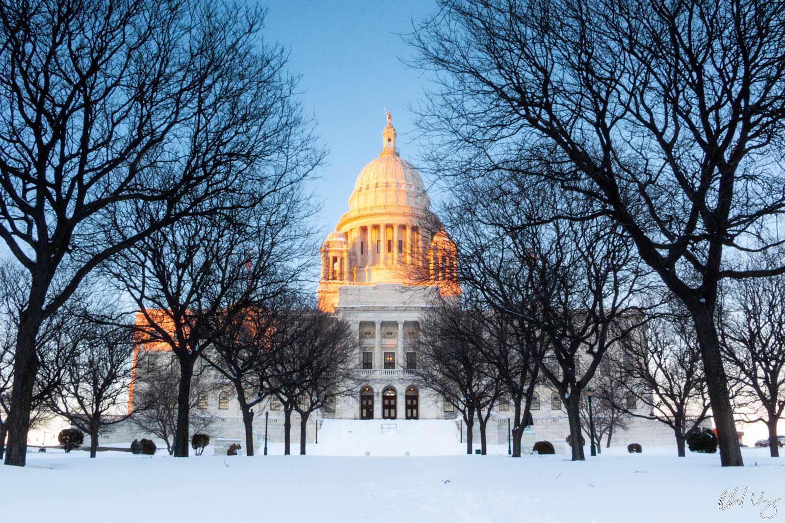 Rhode Island State Capitol, Providence, Rhode Island, photo, photo