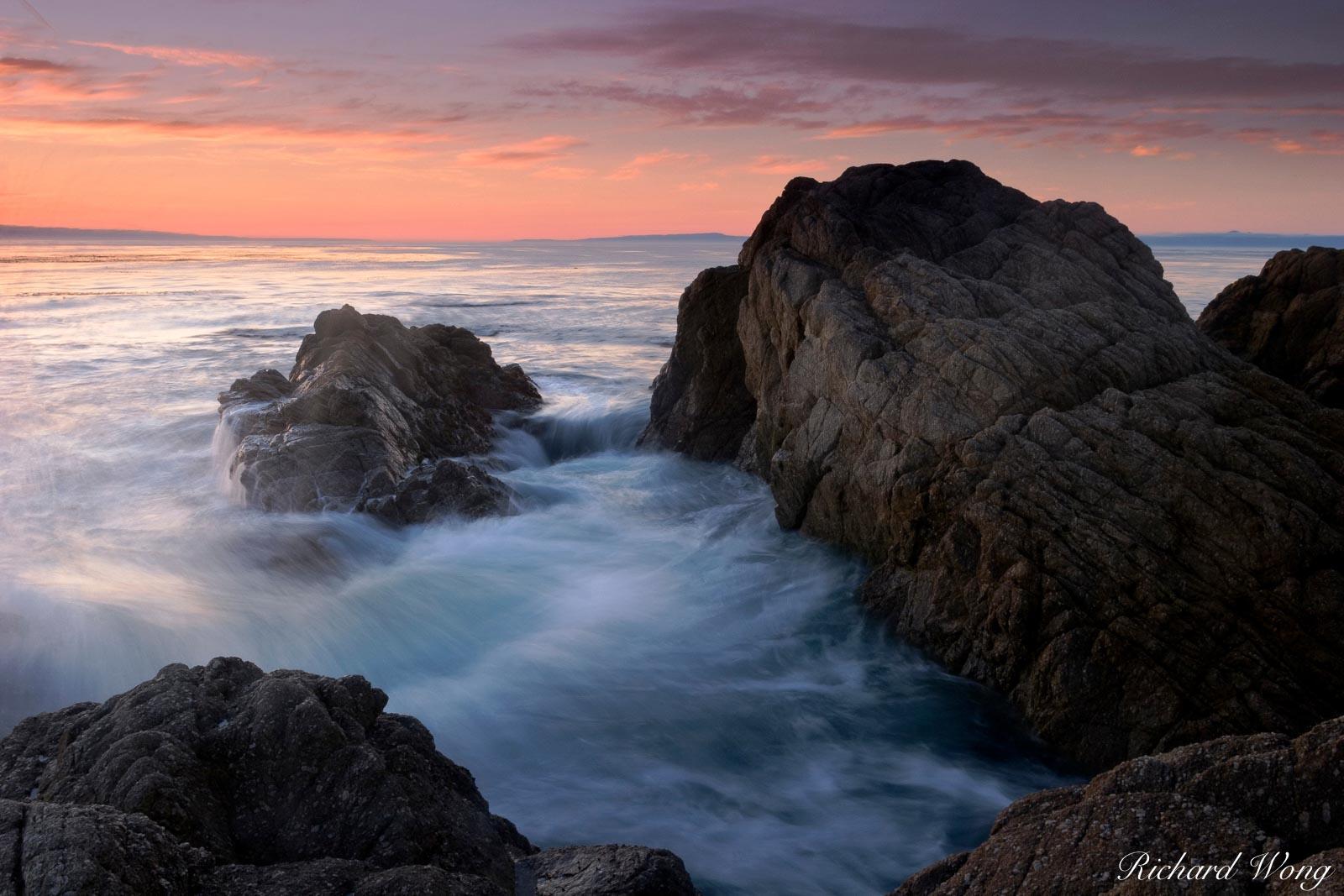 17 Mile Drive Seascape Tides, Pebble Beach, California, photo, photo