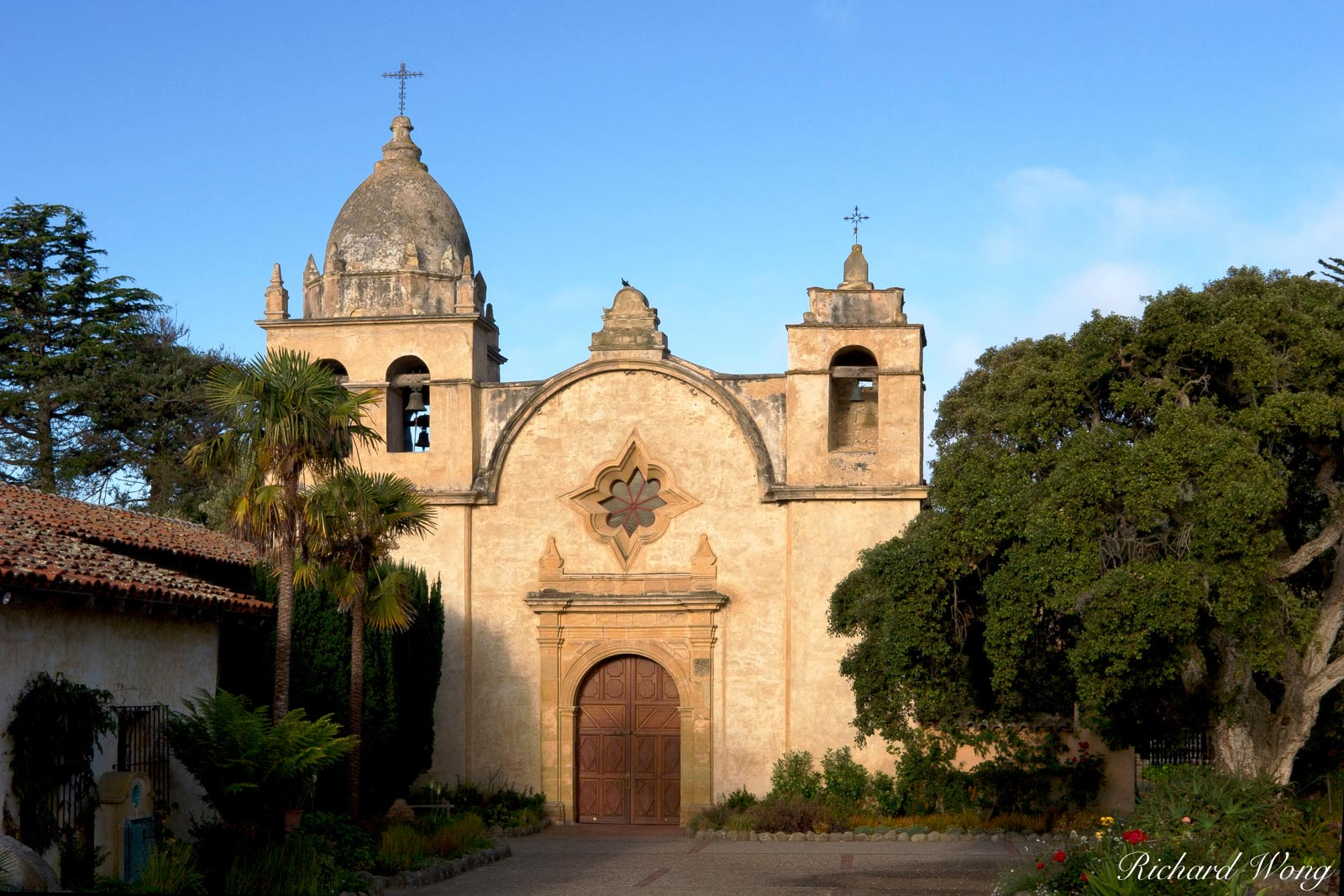 Carmel Mission Church, Carmel-by-the-Sea, California, photo, photo