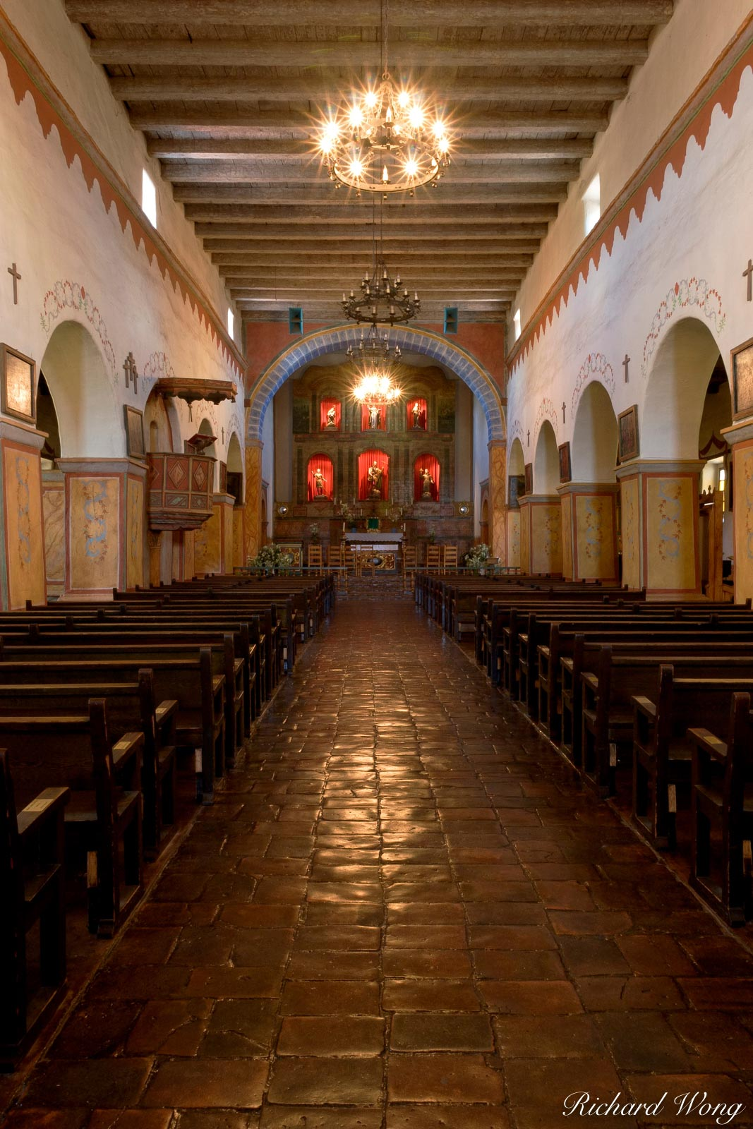 California Missions, Mission San Juan Bautista, photo, photo
