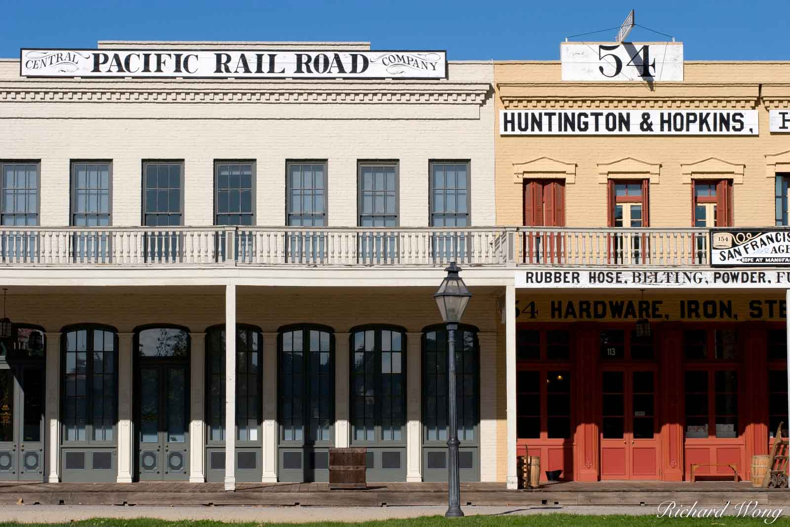 Central Pacific Railroad Company, Huntington & Hopkins Hardware Store, Old Town Sacramento, California, photo, photo