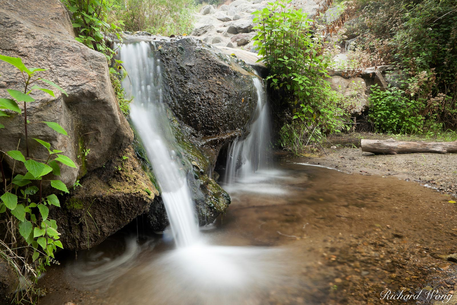 Small Waterfalls at Big Dalton Canyon Wilderness Park, Glendora, California, photo, photo
