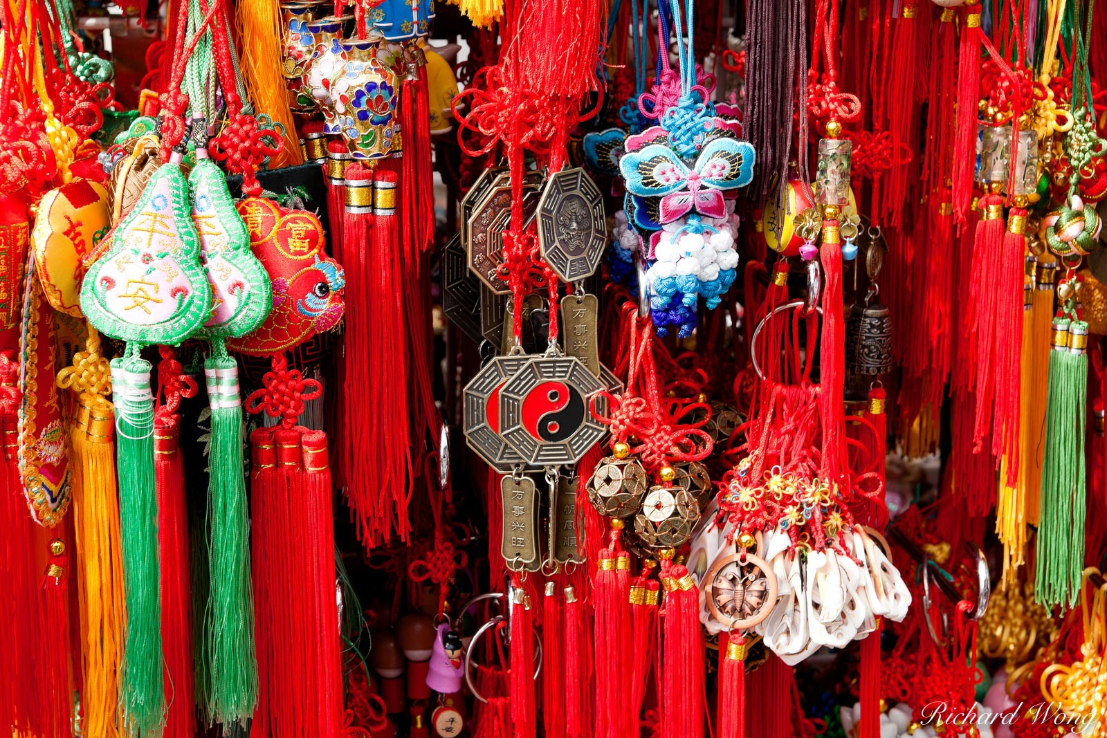 Chinese Wind Chimes for Sale in Chinatown, Vancouver, BC, photo, photo