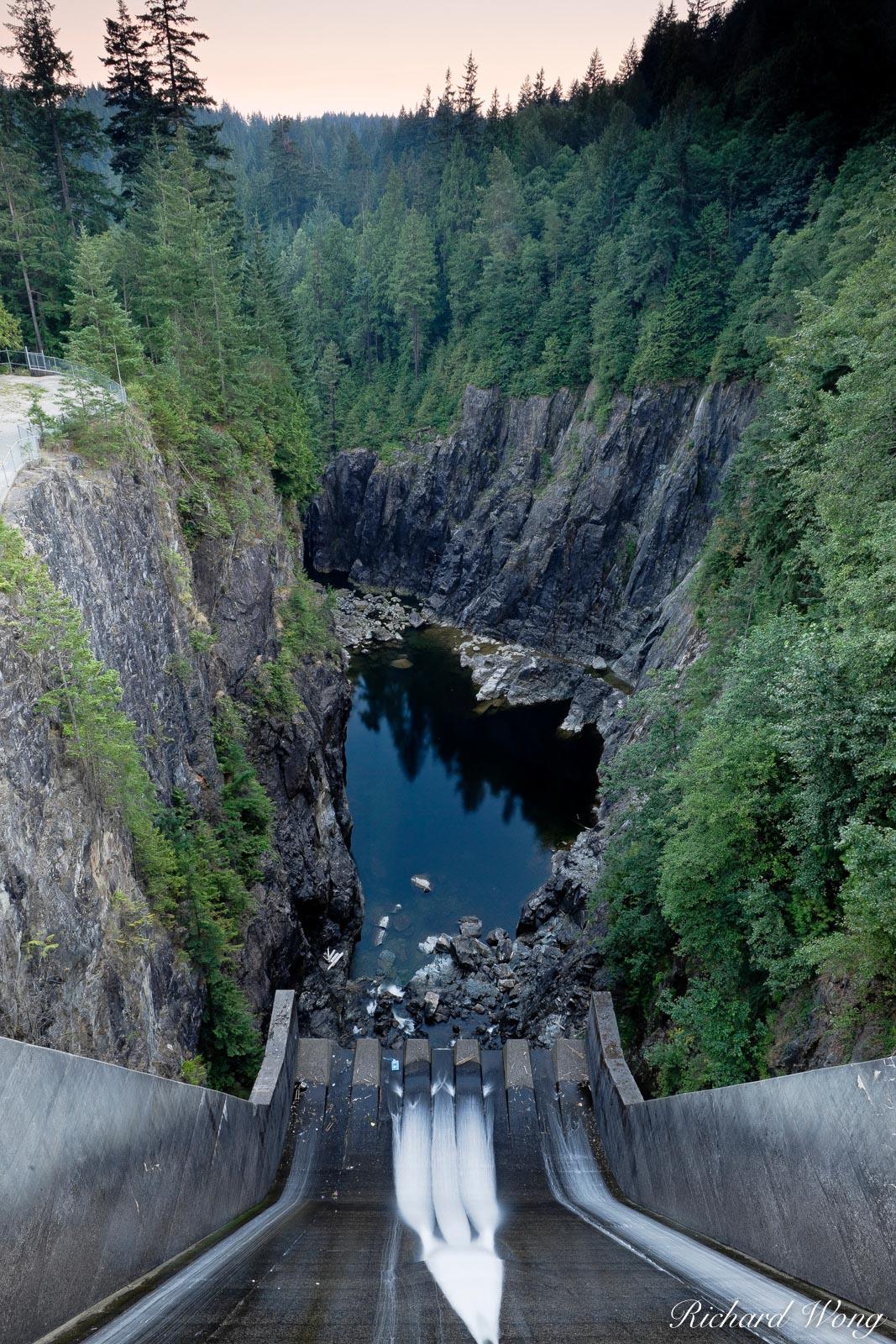 Cleveland Dam, Capilano River Regional Park, North Vancouver, B.C., photo, photo