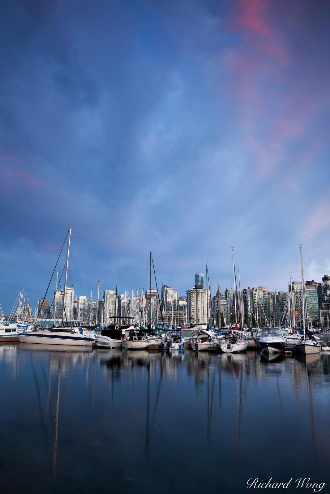 Coal Harbor Marina, Vancouver, B.C., photo, photo