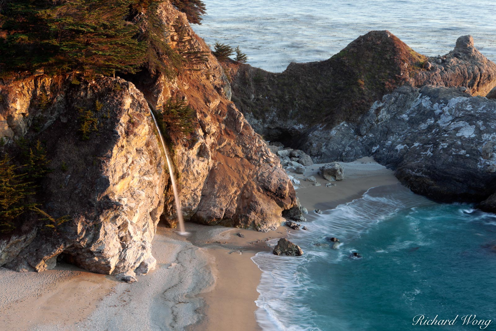 McWay Falls, Big Sur, California, photo, photo