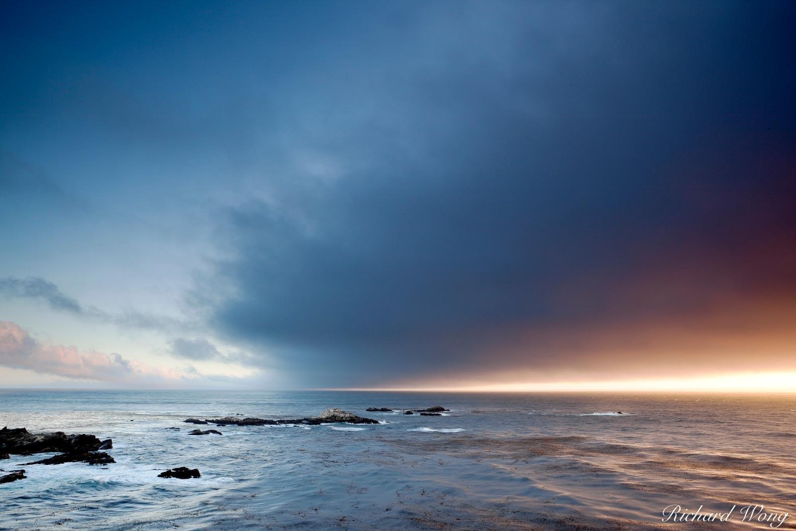 Monterey Bay Sunset, Point Lobos State Reserve, California, photo