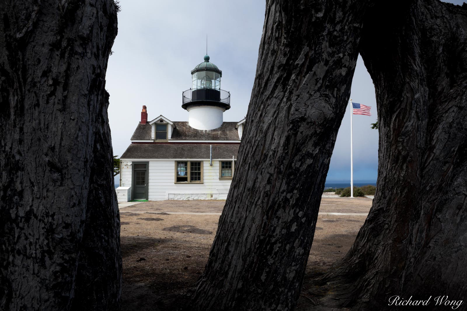 Point Pinos Lighthouse (Oldest Continuously Operating Lighthouse on the West Coast), Pacific Grove, California, photo, photo
