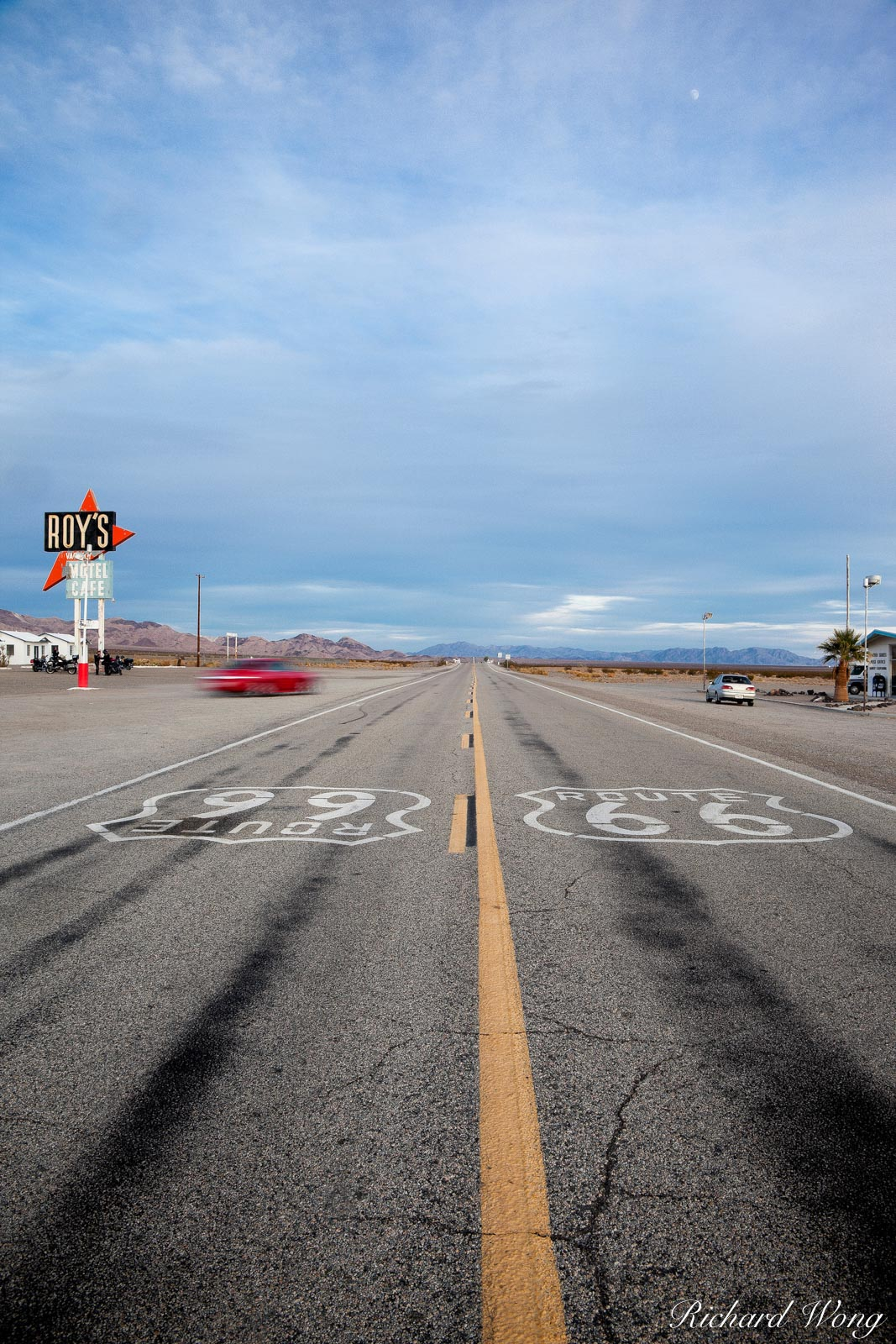 Route 66, Amboy, California, photo, photo
