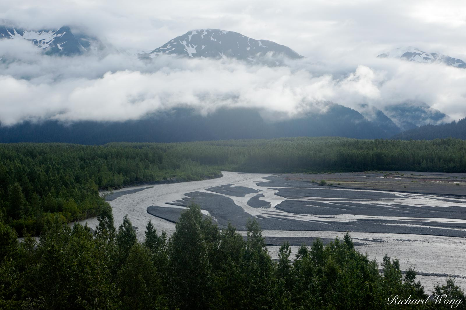 alaska, clouds, coastal, exit glacier, kenai fjords national park, kenai peninsula, landscape, landscapes, mountains, nature, outdoor, outdoors, overcast, pacific northwest, resurrection river, rivers, photo