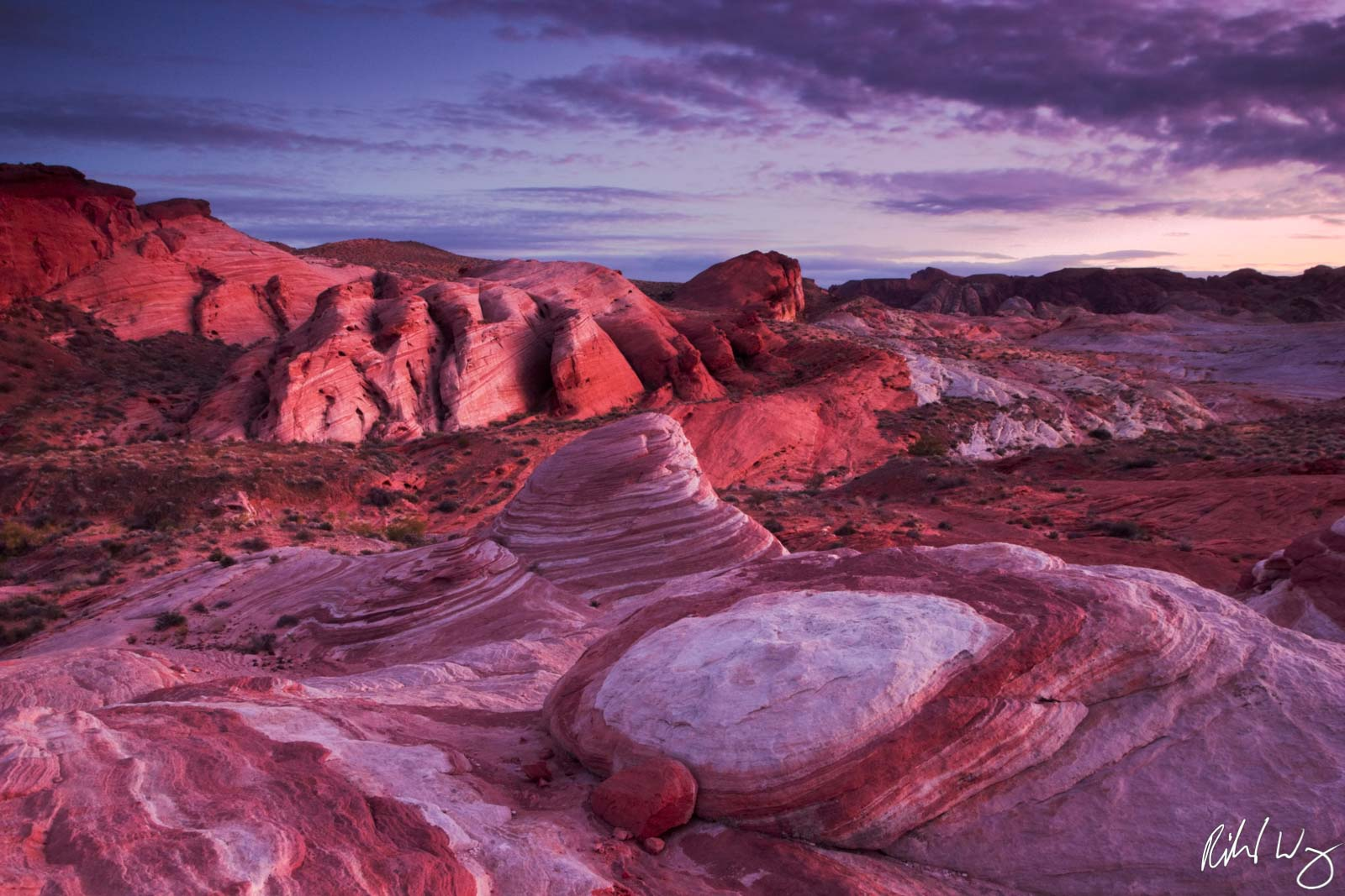 Fire Wave, Valley of Fire State Park, Nevada, Photo, photo