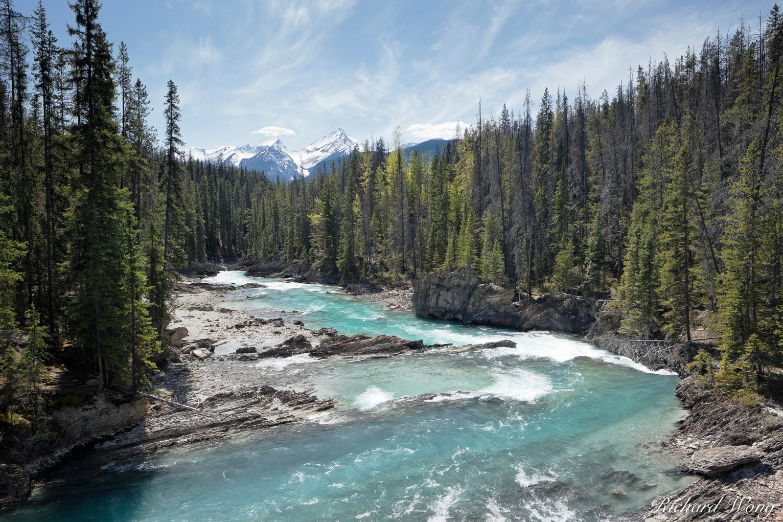 Kicking Horse River, Yoho National Park, British Columbia, Canada, Photo, photo