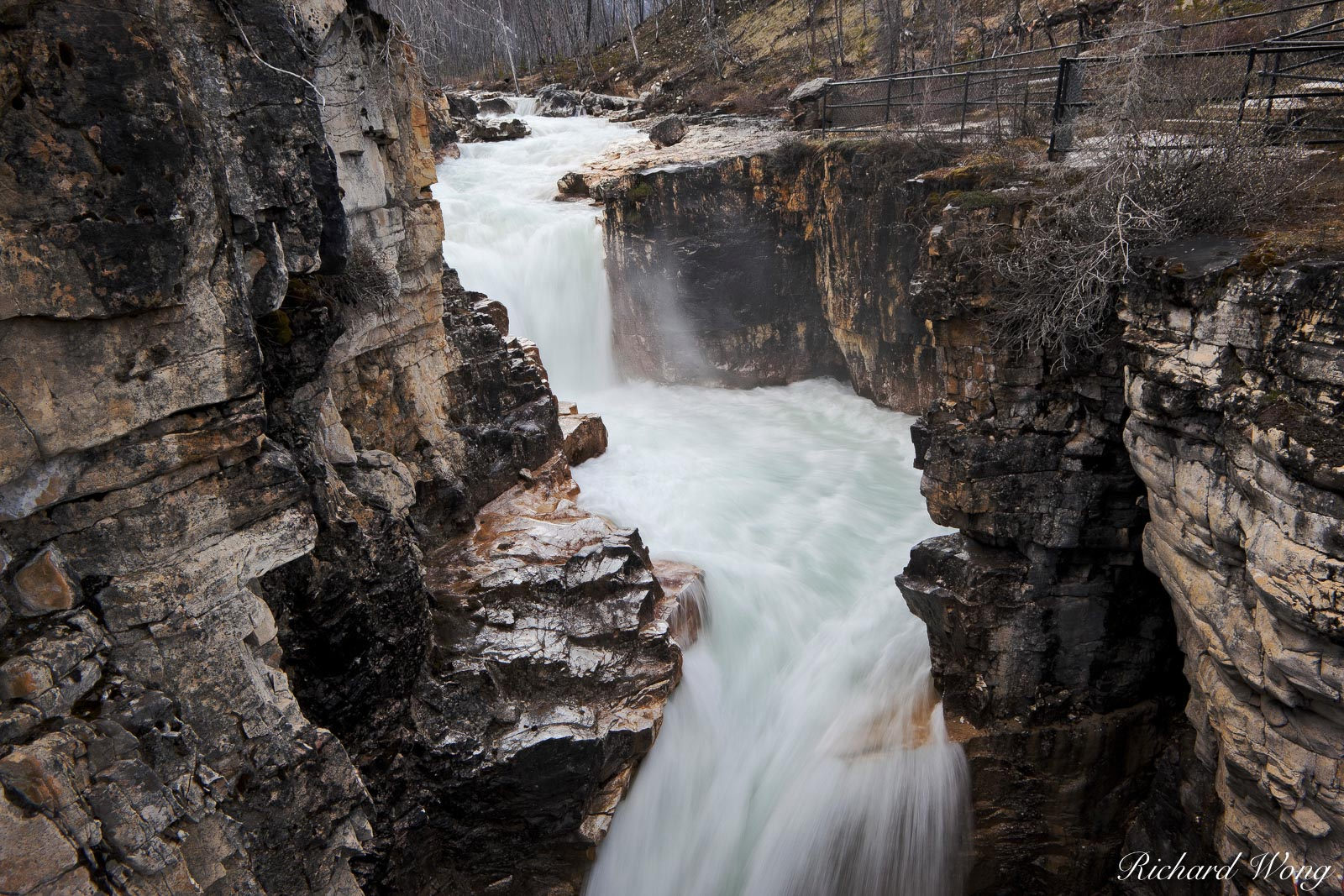 Marble Canyon Falls, Kootenay National Park, British Columbia, Canada, photo