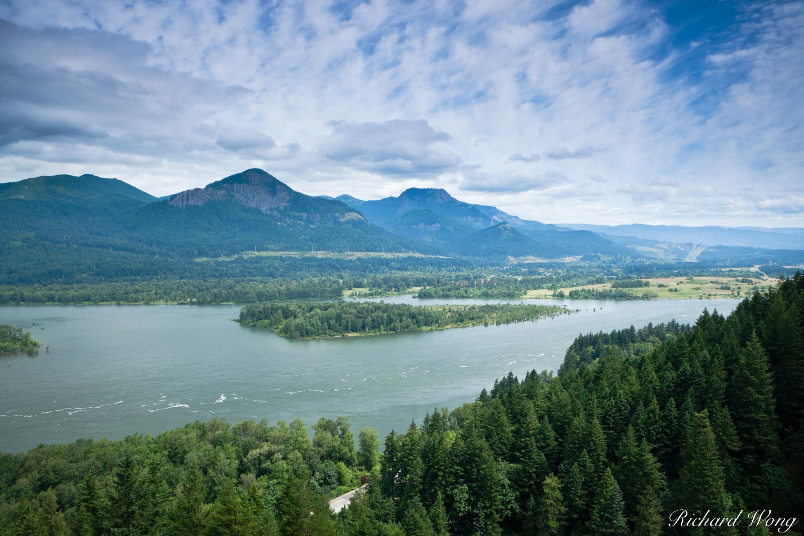 Columbia River Gorge Scenic Vista, John B. Yeon State Park, Oregon, photo, photo