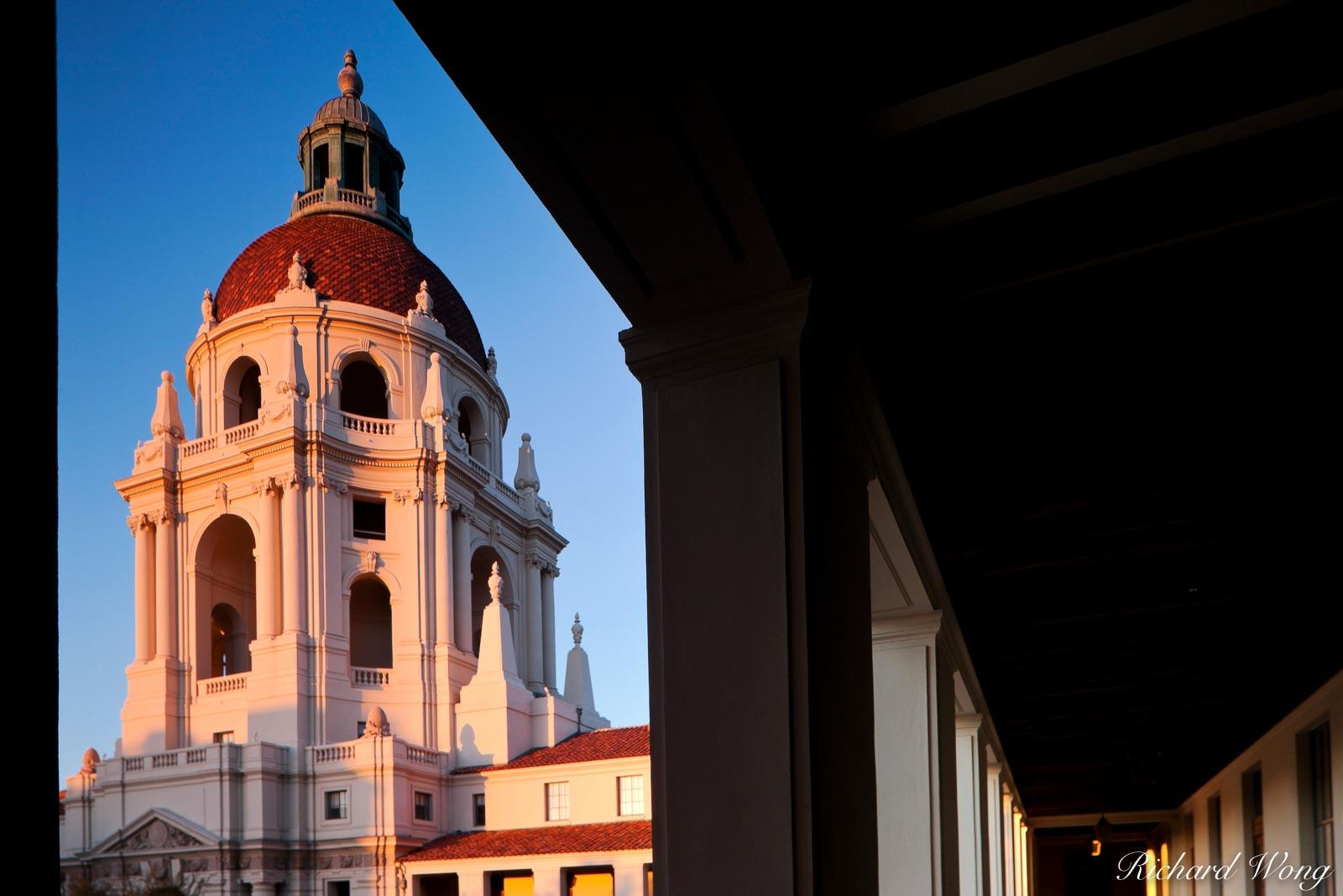 Italian Renaissance-style Dome of Pasadena City Hall, California, photo, photo