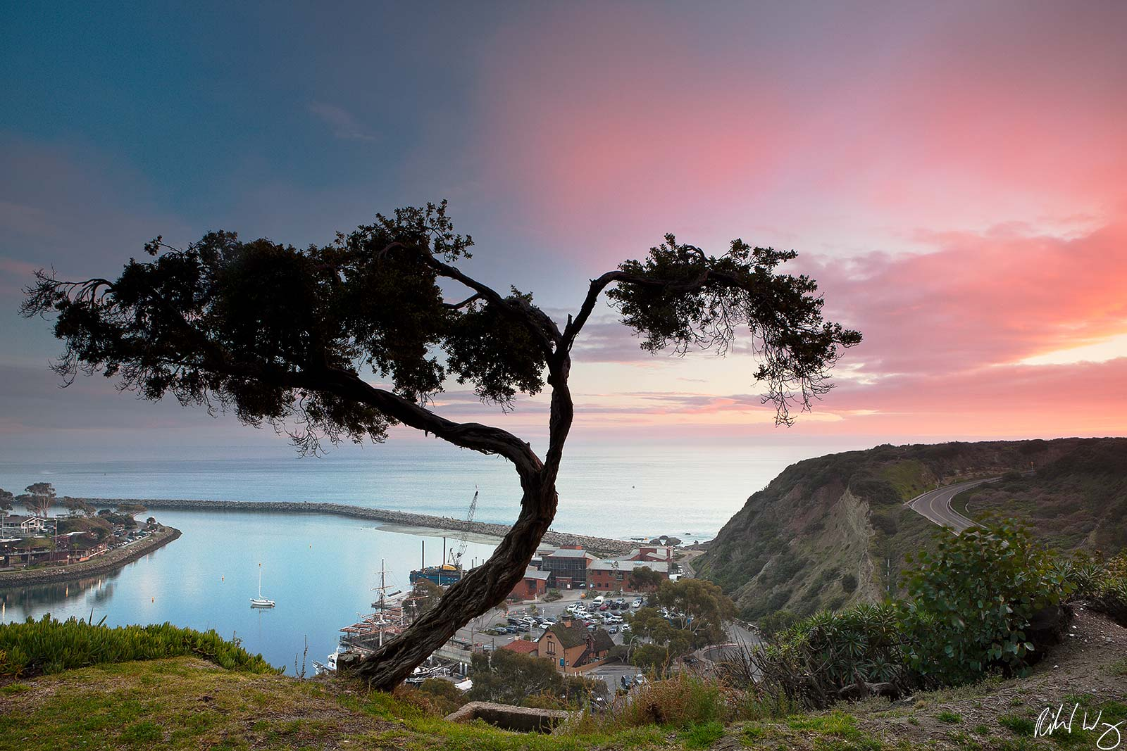 Dana Point Harbor Sunset, Dana Point, California