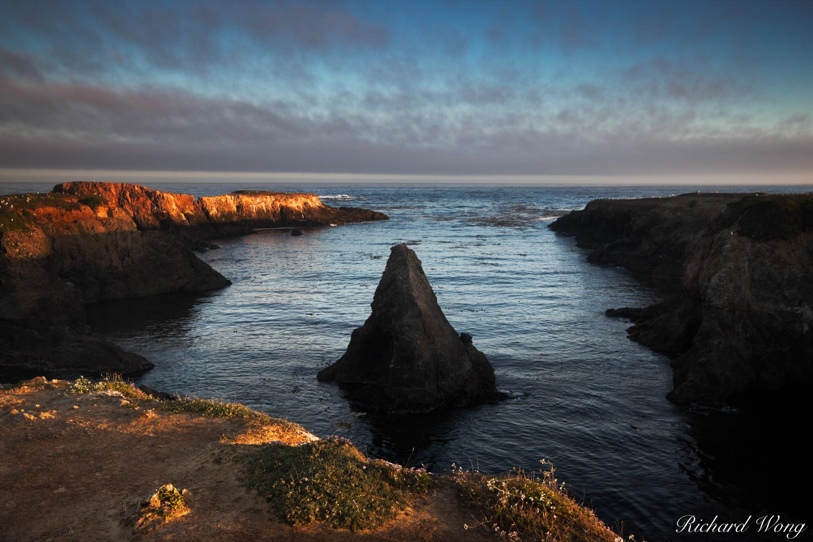 Sunrise at Mendocino Headlands State Park, Mendocino, California, photo, photo