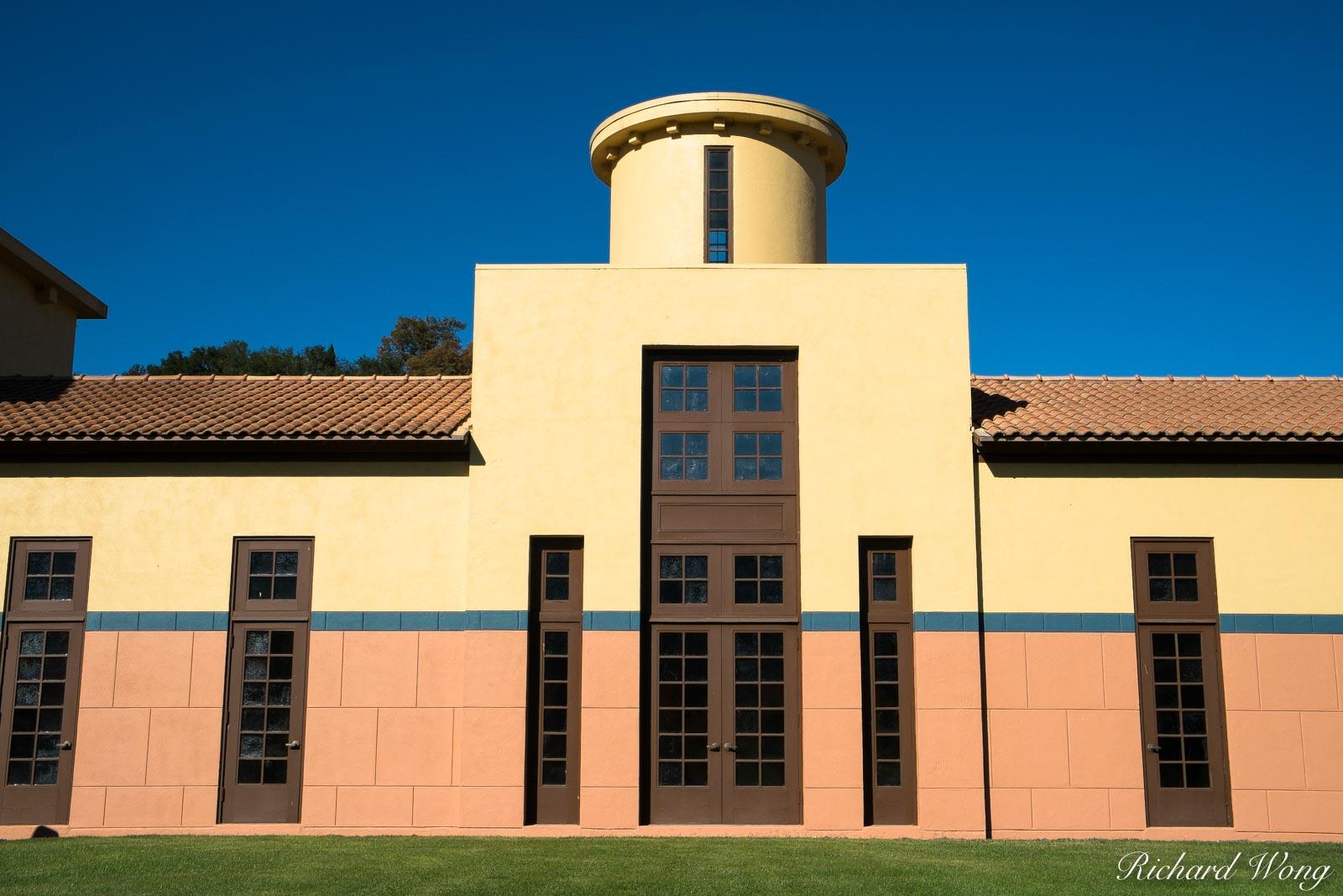 Clos Pegase Winery, Calistoga, California, photo, photo