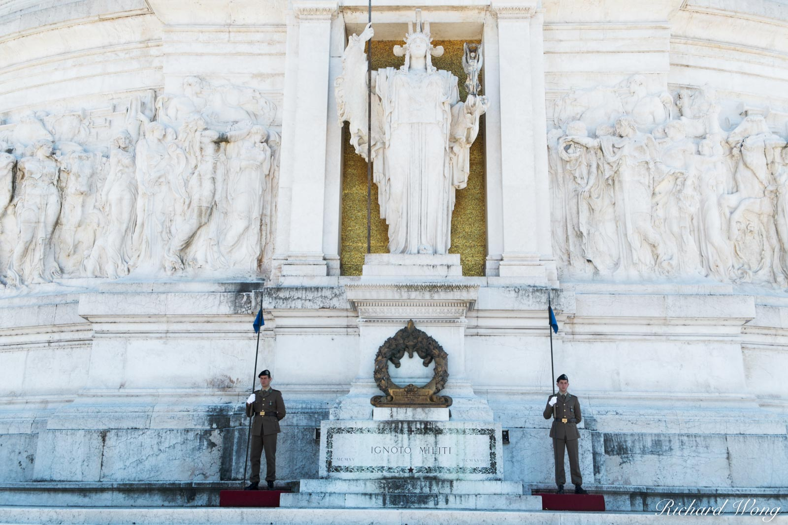 Tomb of the Unknown Soldier at Monumento Nazionale a Vittorio Emanuele II, Roma, Italy, photo, photo