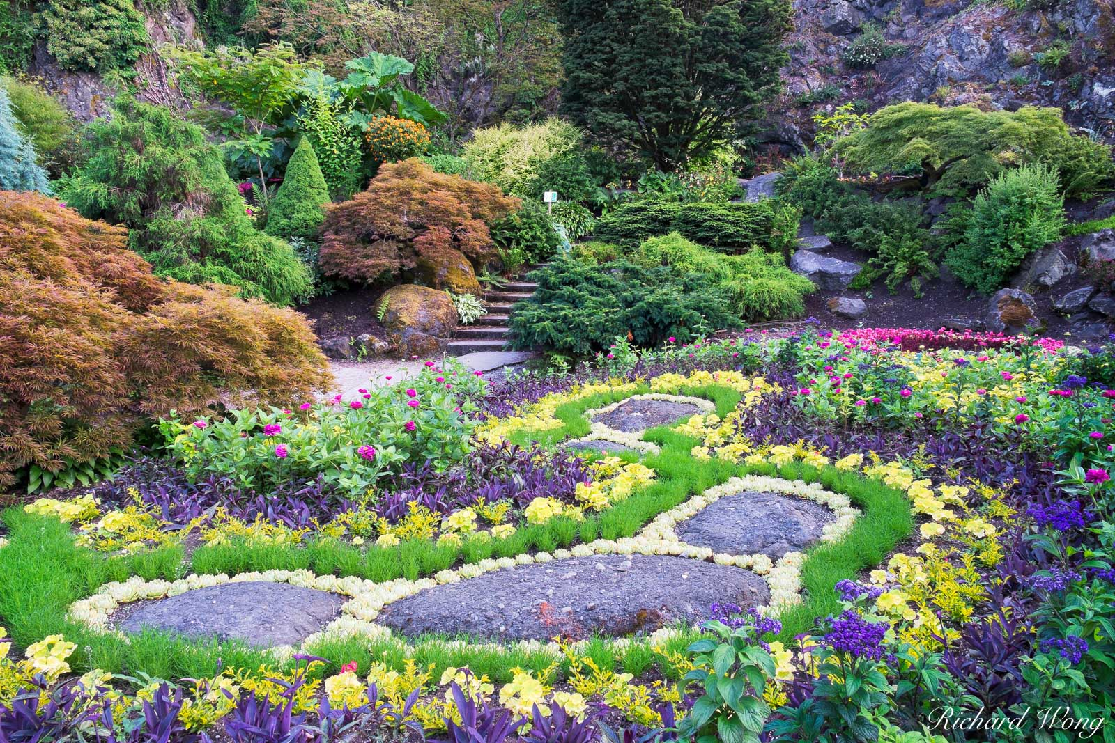 North Quarry Garden at Queen Elizabeth Park, Vancouver, B.C., photo, photo