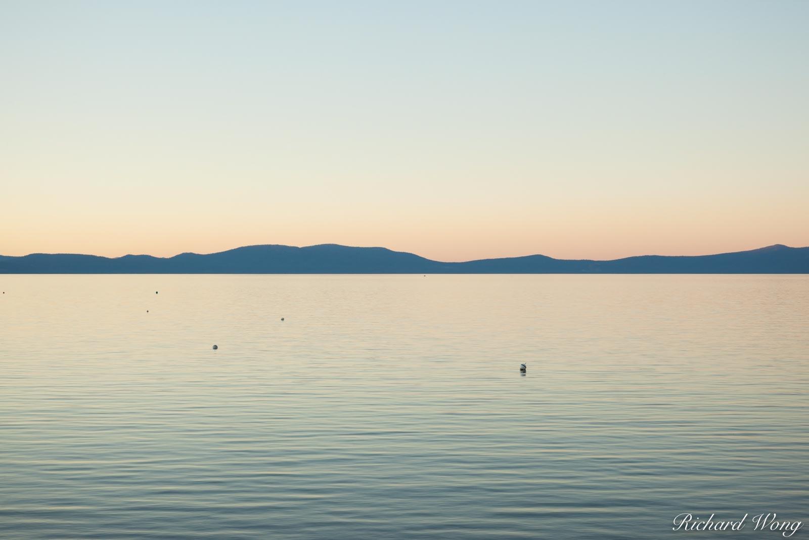 South Lake Tahoe at Sunset, California
