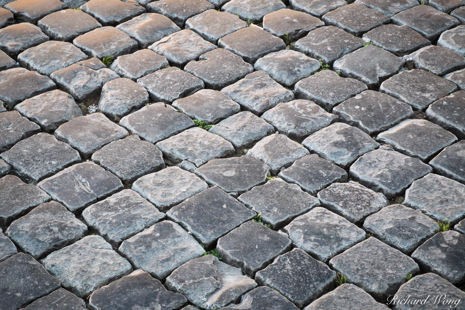 Cobblestone at Piazza Navona, Rome, Italy, photo, photo