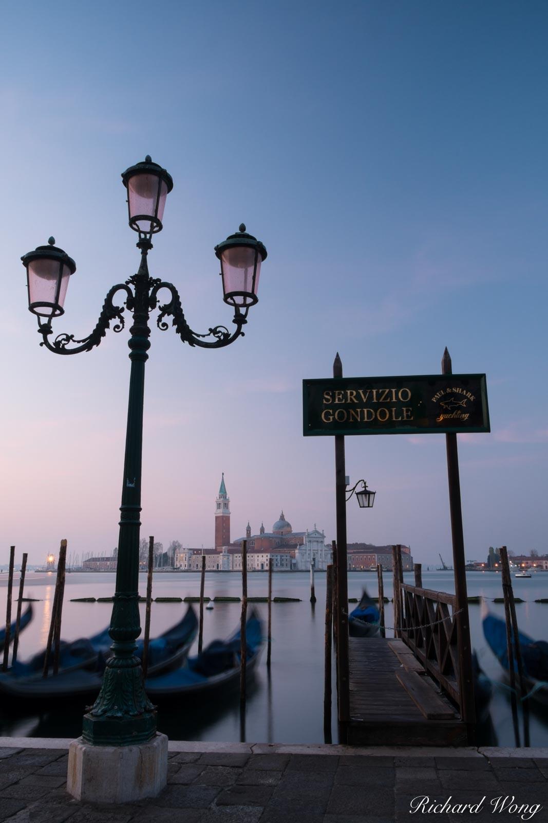 Servizio Gondole in San Marco, Venice, Italy, photo, photo