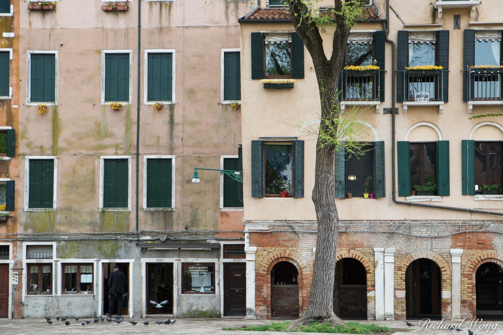 Venetian Jewish Ghetto (Ghetto Vecchio), Venice, Italy