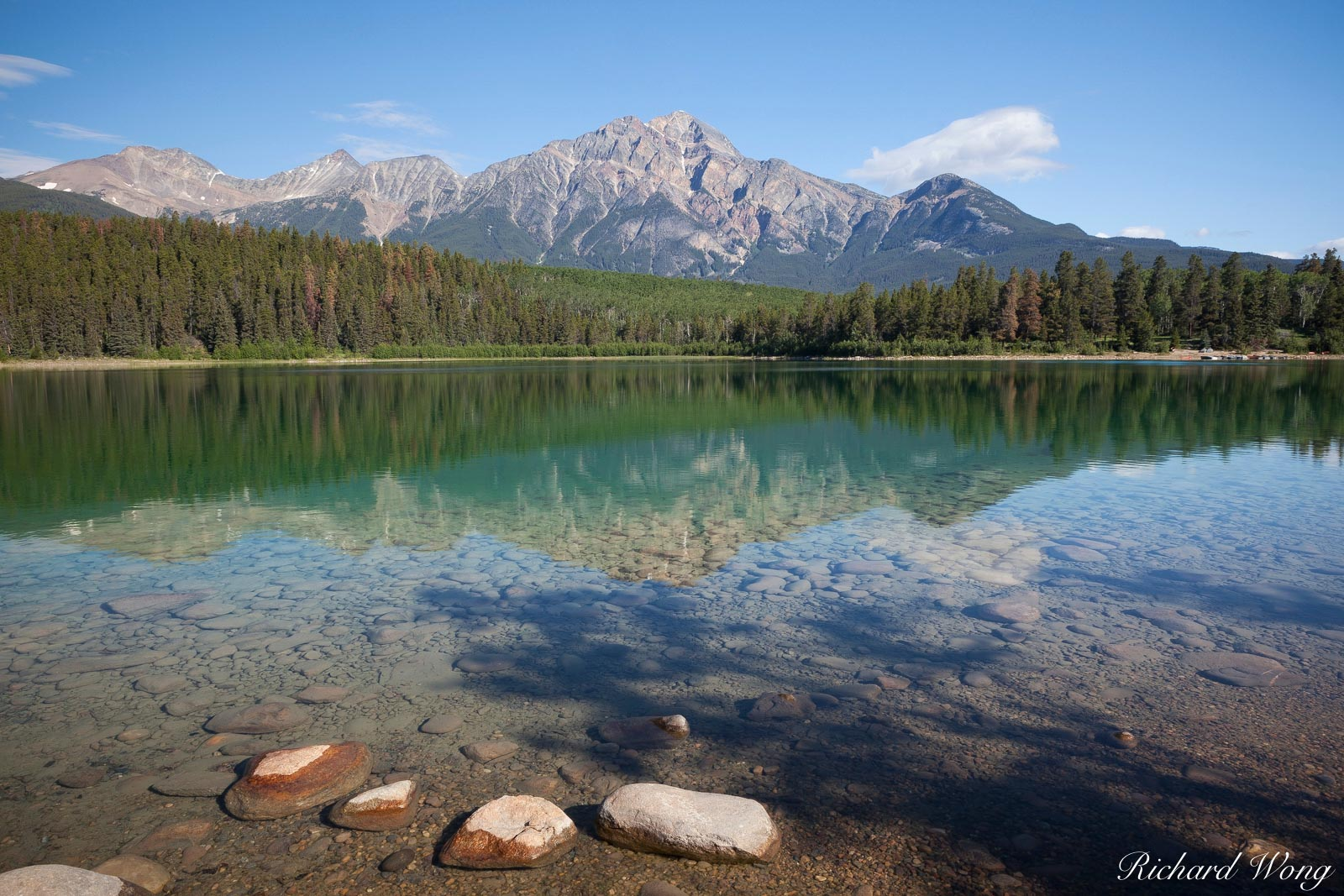 ab, alberta, canada, canadian rockies, jasper national park, lake, lakes, landscape, landscape photography, nature, north america, outdoor, outdoor shot, outdoors, outside, patricia lake, reflections,, photo