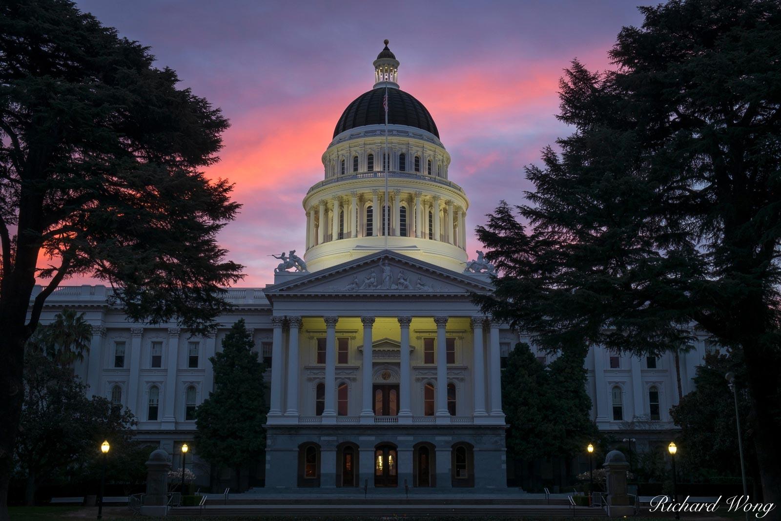California State Capitol, Sacramento, California, photo, photo