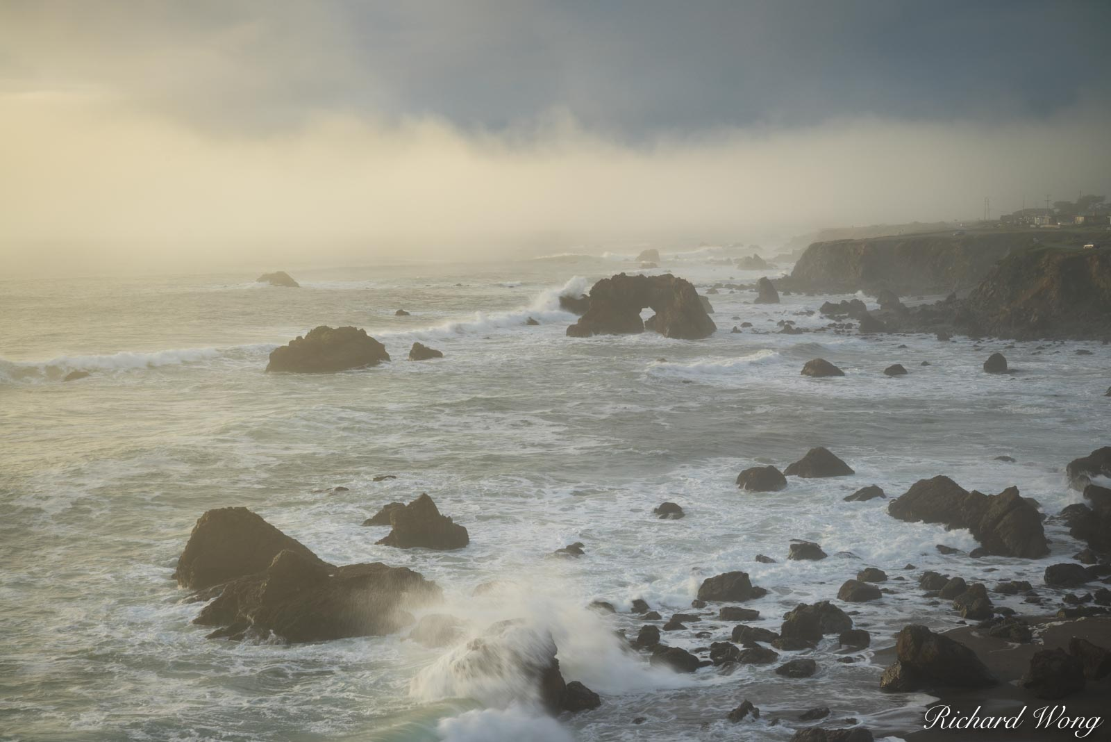 Arched Rock Beach, Sonoma Coast SB, California, photo, photo