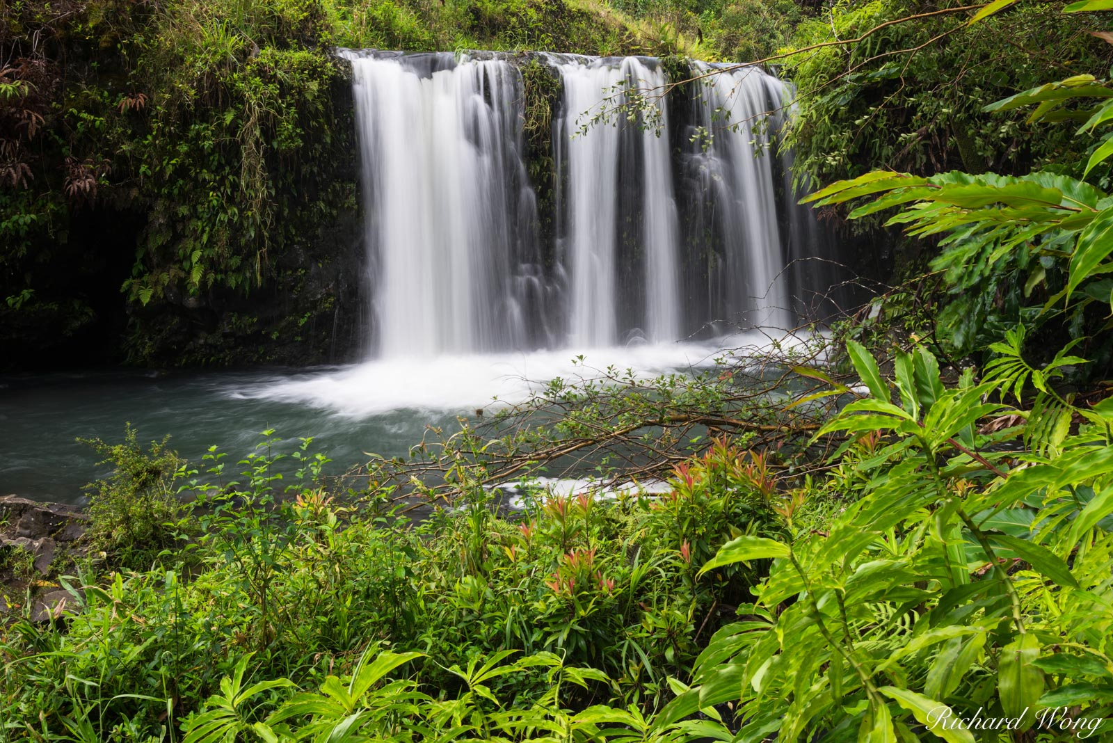Pua'a Ka'a State Wayside Park Waterfall, Maui, Hawaii, photo, photo