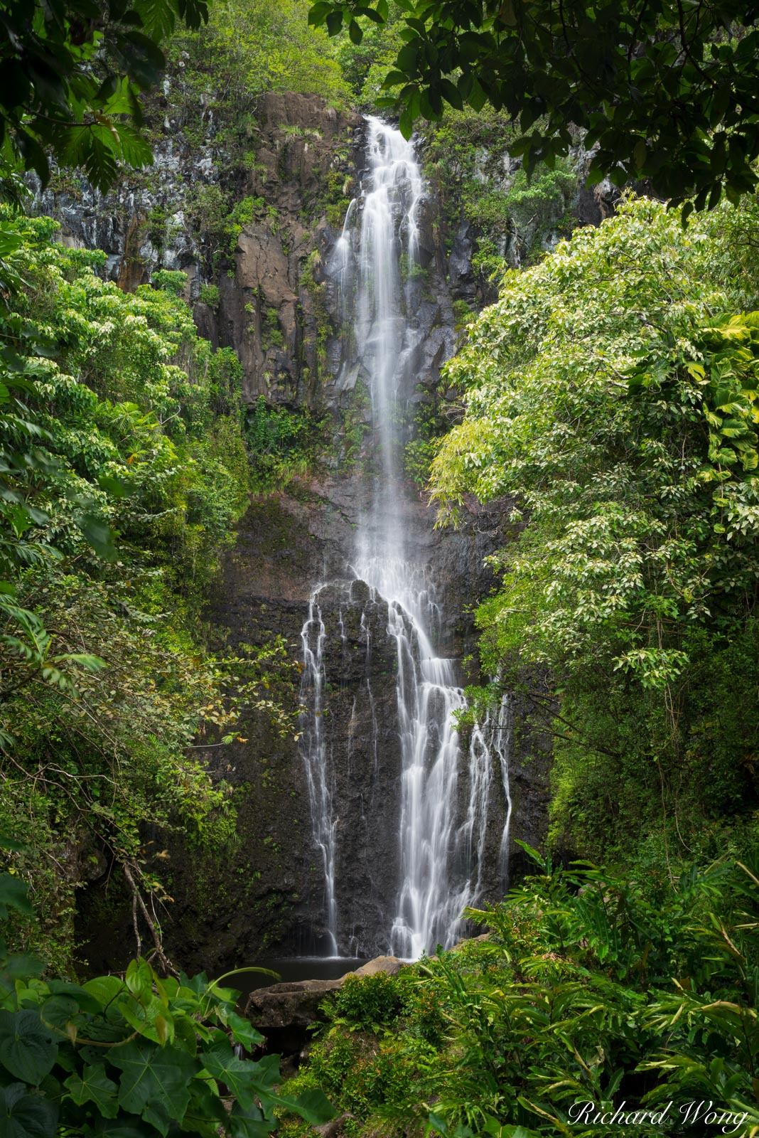 Wailua Falls (Road to Hana), Maui, Hawaii, photo, photo