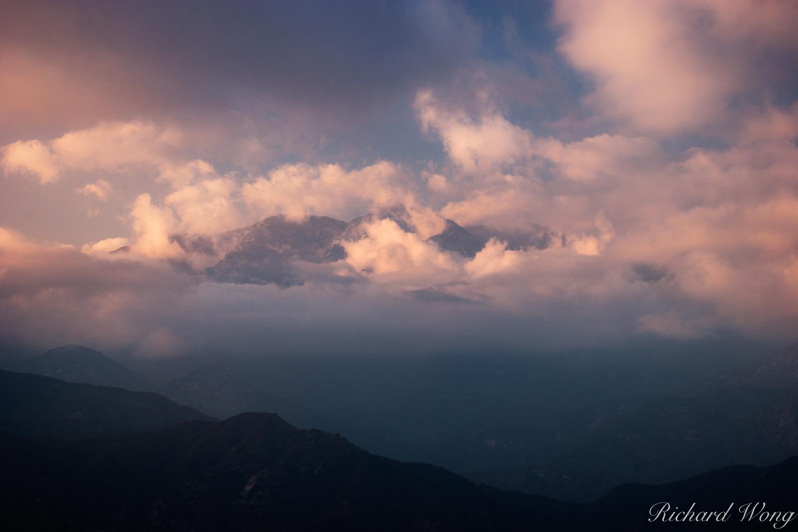 San Gabriel Mountains, California, photo, photo