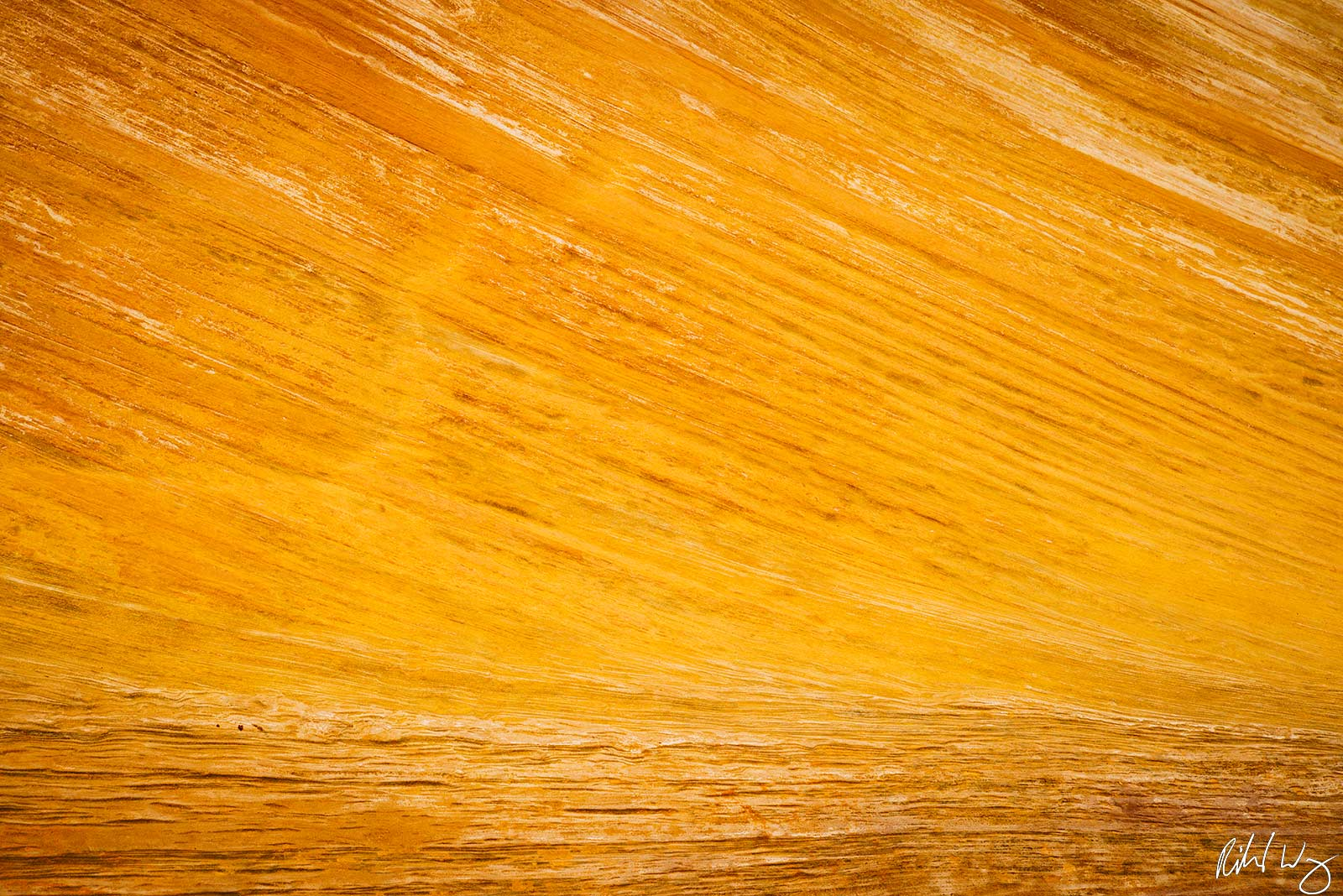 Striated Sandstone Abstract Patterns, Capitol Reef National Park Photo