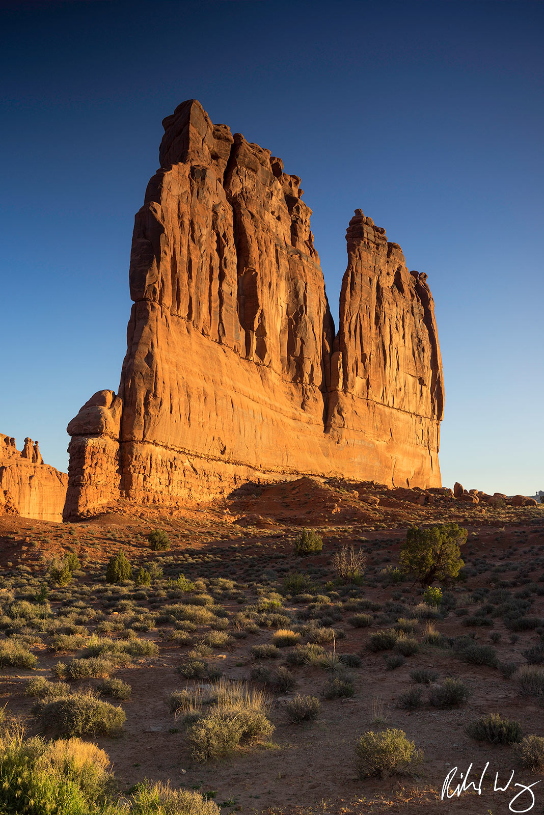 Tower of Babel, Arches National Park, Utah Photo, photo
