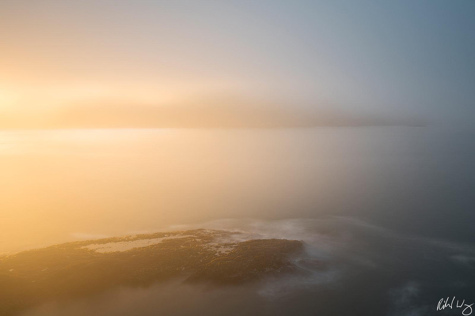 Sunrise Long Exposure, Mendocino, California, Photo, photo