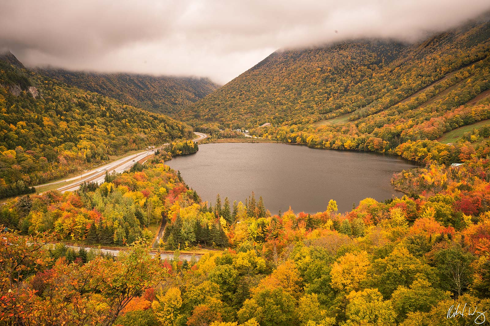 Artists Bluff, Franconia Notch State Park, New Hampshire, Photo, photo