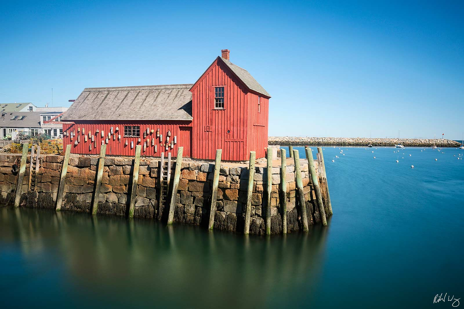 Motif Number 1 at Bradley Wharf, Rockport, Massachusetts, Photo, photo