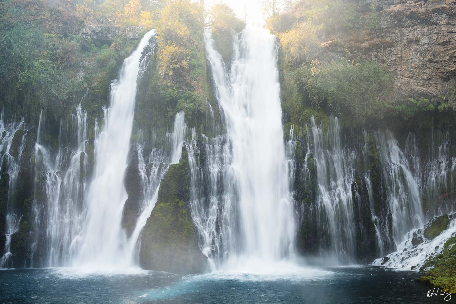 Burney Falls, McArthur-Burney Falls Memorial State Park, California, photo, photo