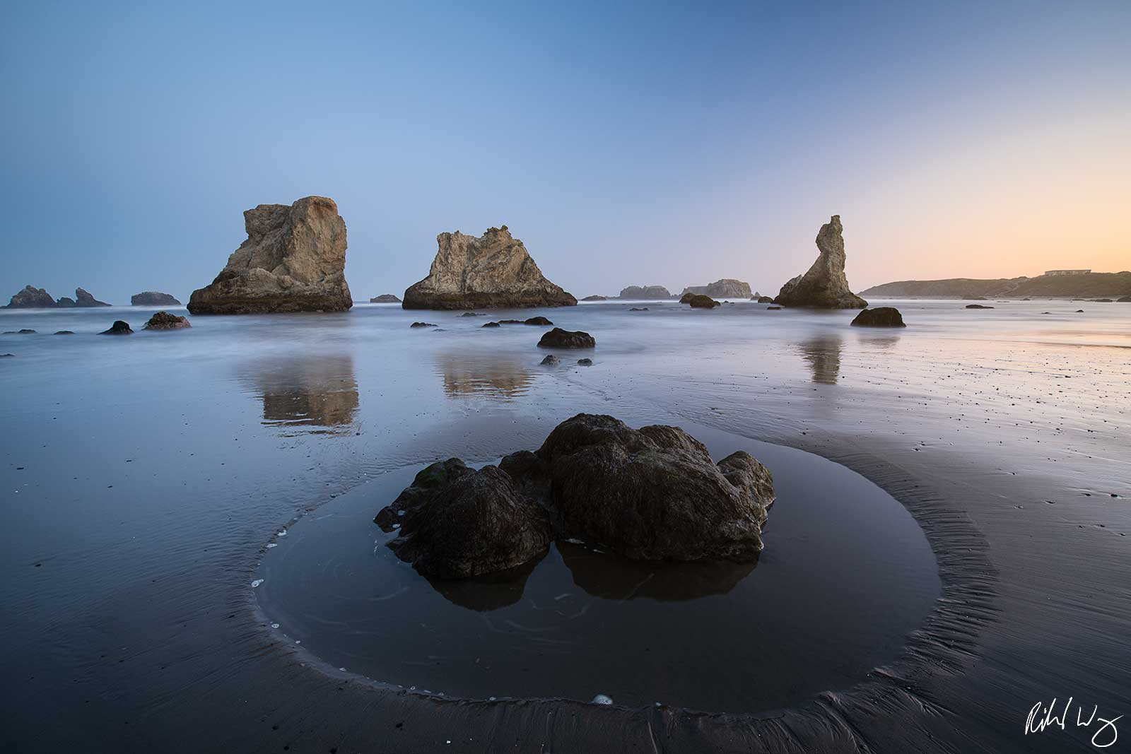 Bandon Beach Sunrise, Oregon, photo
