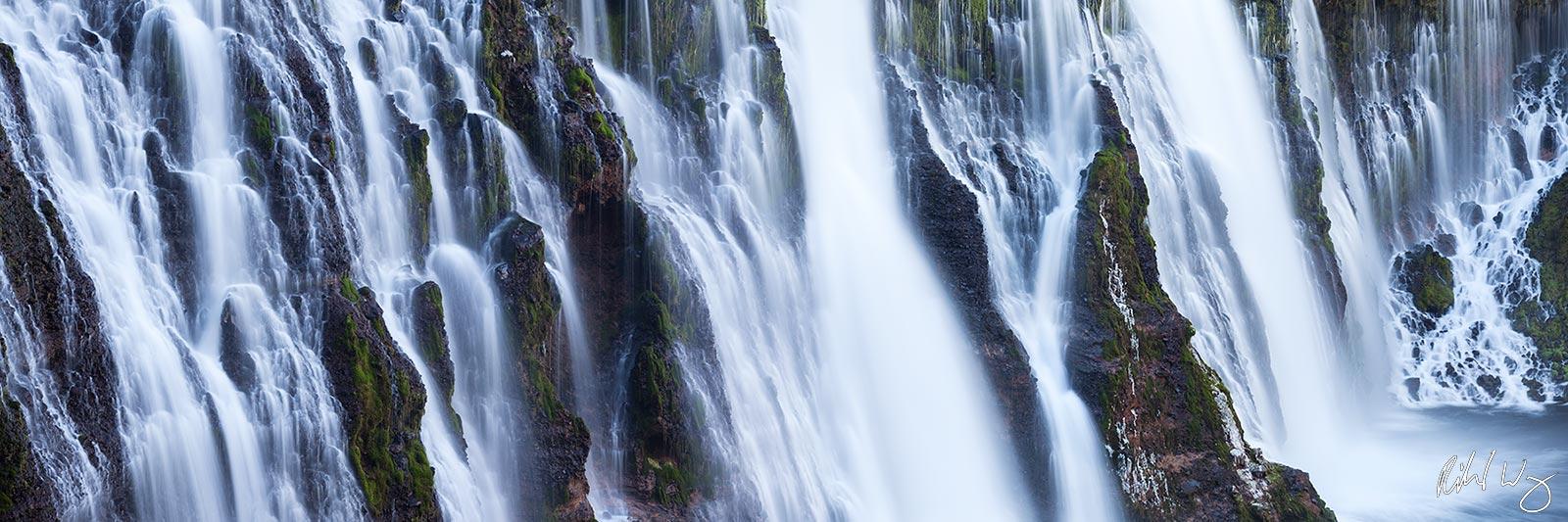 Burney Falls Panoramic, MacArthur-Burney Falls Memorial State Park, California